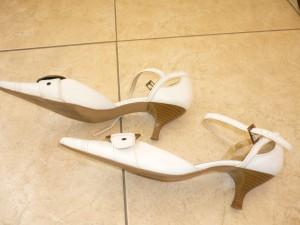 escarpins blanc 1