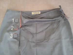 jupe noire copain detail+